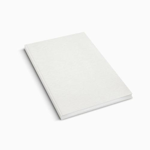 Hardcover Leder - Weiss