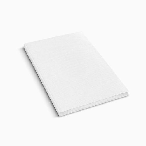 Hardcover Leinen - Weiss