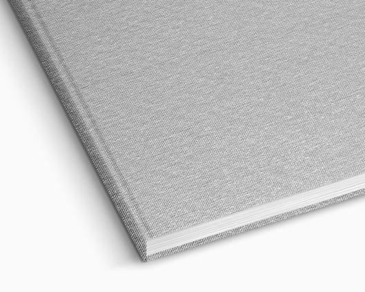 Premium Hardcover aus Baumwollgewebe